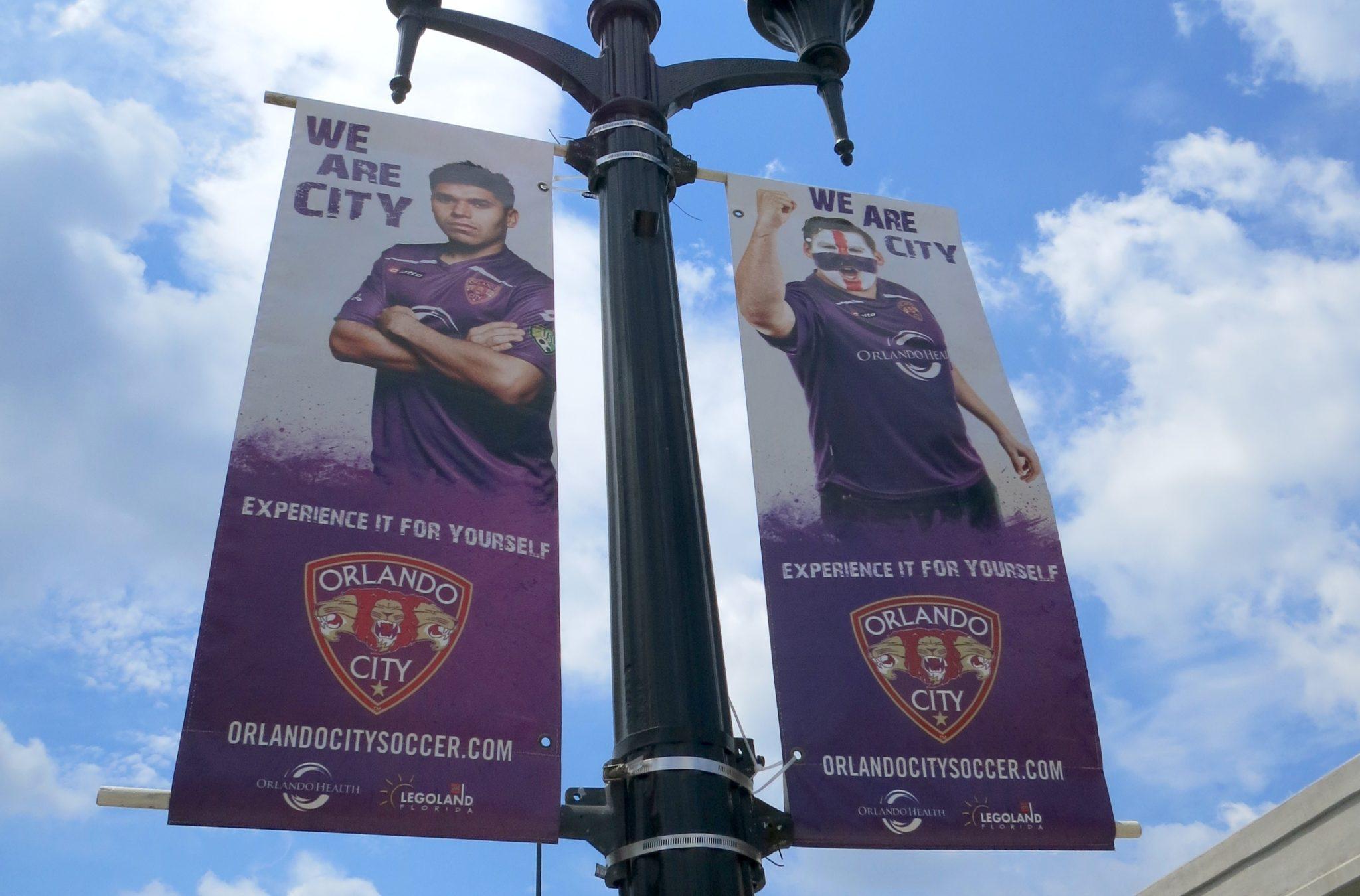 Orlando City Soccer Banner