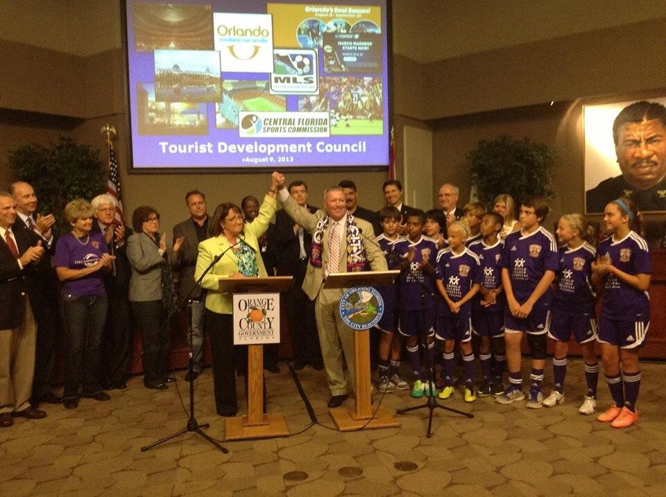 Orlando City Soccer Funding