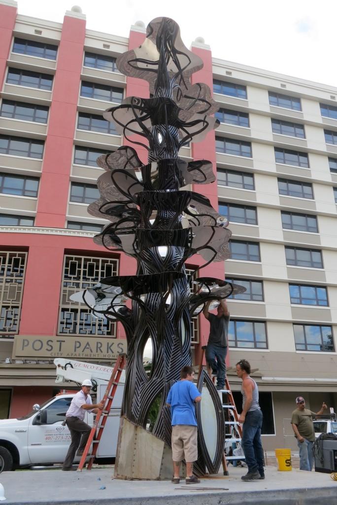 Hamerling See Art Tree Construction2