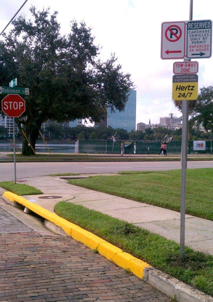 Orlando Car Share Location