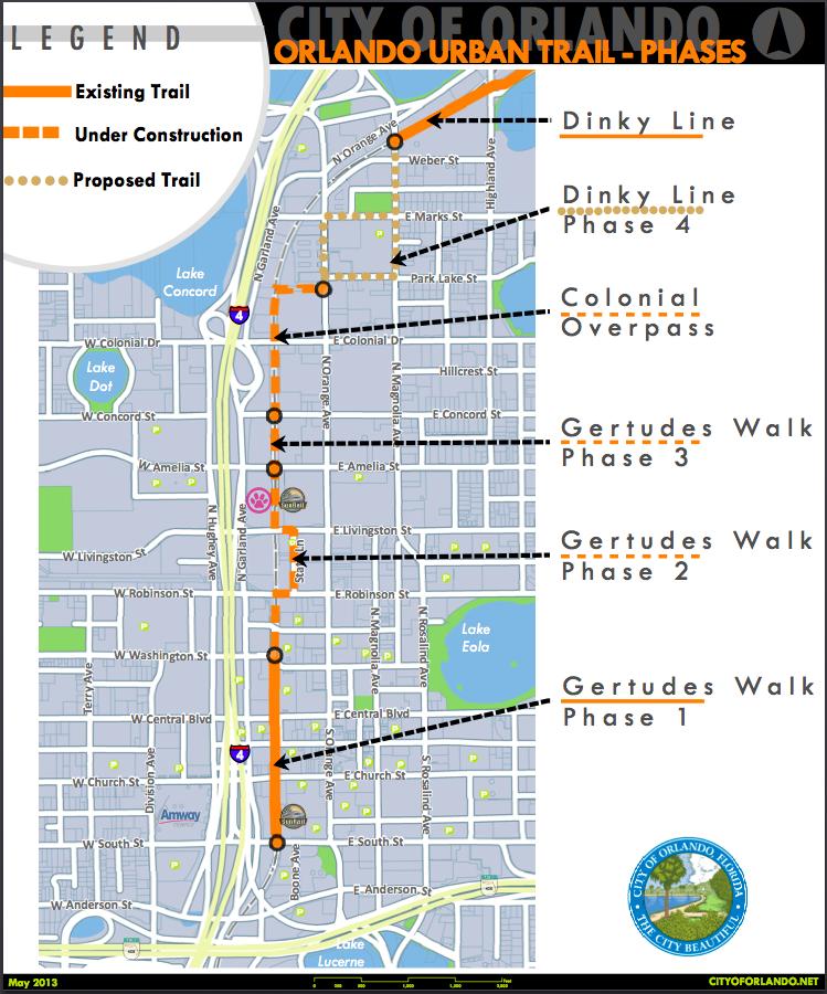 Orlando Urban Trail - Pedestrian Bridge