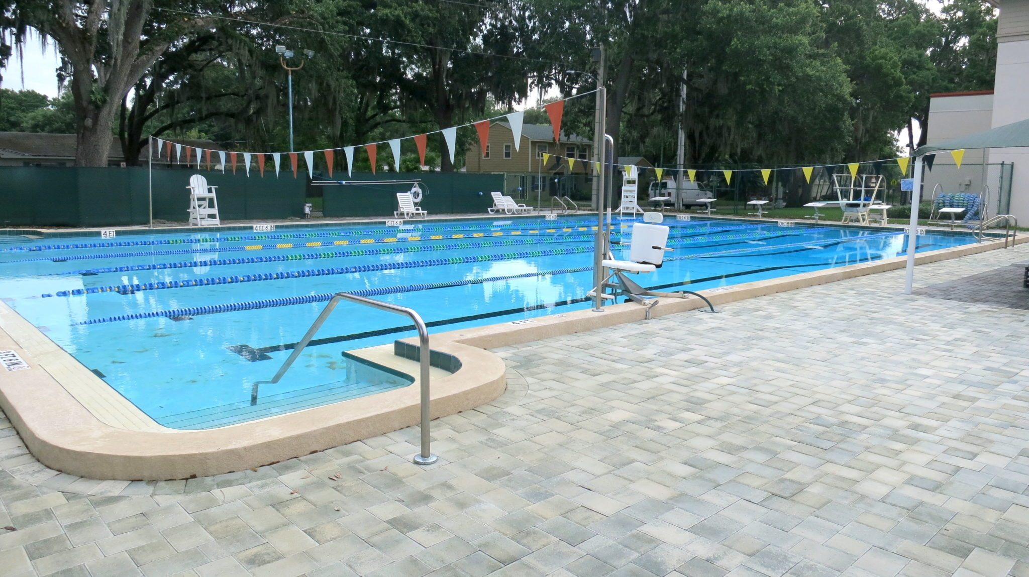 City pools offer free open swim for the summer bungalower for Garden city swimming pool