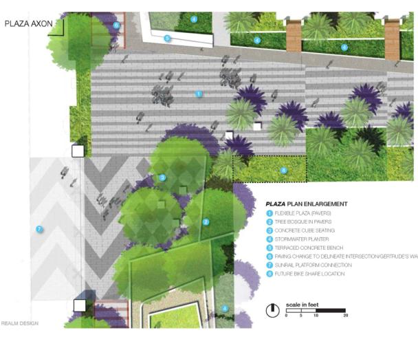 Central Station Park Plan - Plaza