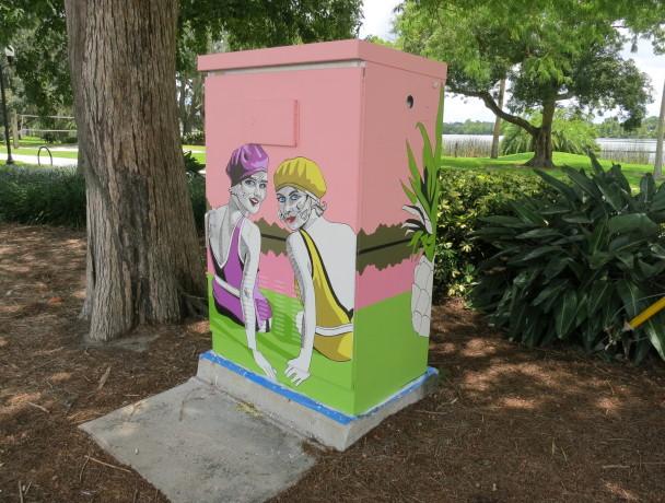 Ivanhoe Joyland Utility Box