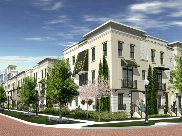 Thornton Park Townhomes Rendering 1