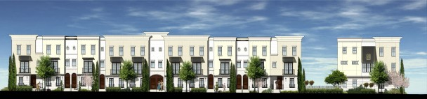 Thornton Park Townhomes Rendering 4