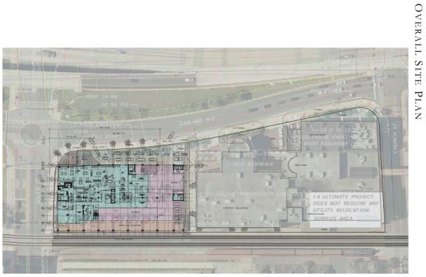 Hyatt Place Downtown Site Plan