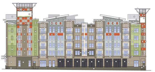 Lexington Court Apartments Elevation 2