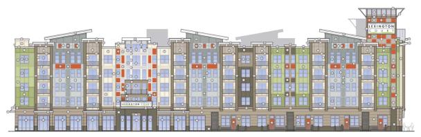 Lexington Court Apartments Elevation 4