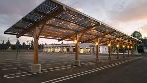 Cincinnati Zoo solar parking canopies.