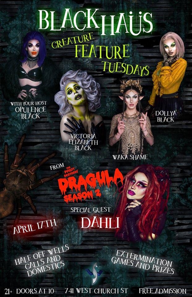 DAHLI at Black Haus Creature Feature Tuesdays - bungalower